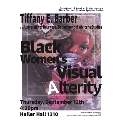 Black Women's Visual Alterity